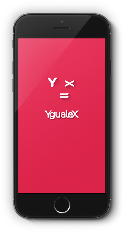 App YgualeX splash screen